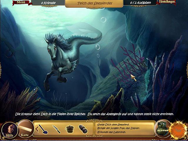Seepferd im Märchenstil