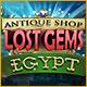 Antique Shop: Lost Gems Egypt. Finde verlorengegangene Juwelen und l�se knifflige Match-3 Puzzle auf v�llig neue Weise.