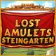 Lost Amulets: Steingarten. Sammle wertvolle Juwelen und stelle das Gleichgewicht von Mutter Natur wieder her!