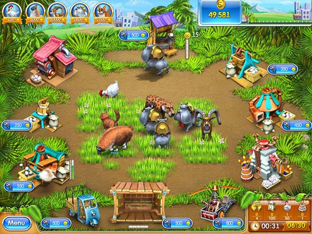 Farm Frenzy 3 - Mac game free download Screenshot 1