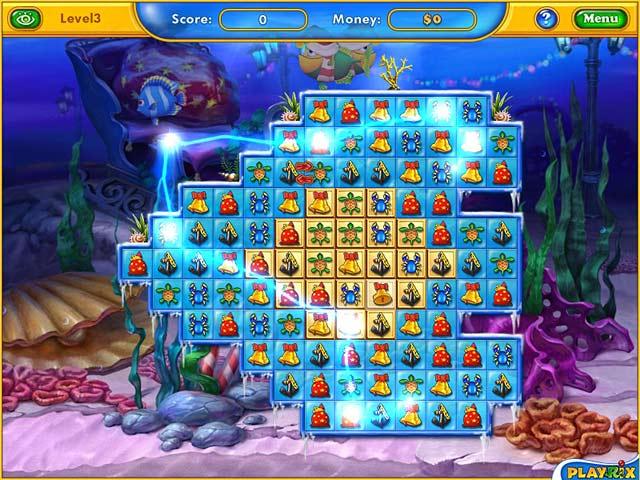 حمل اللعبة الجديدة Fishdom Frosty screen1.jpg
