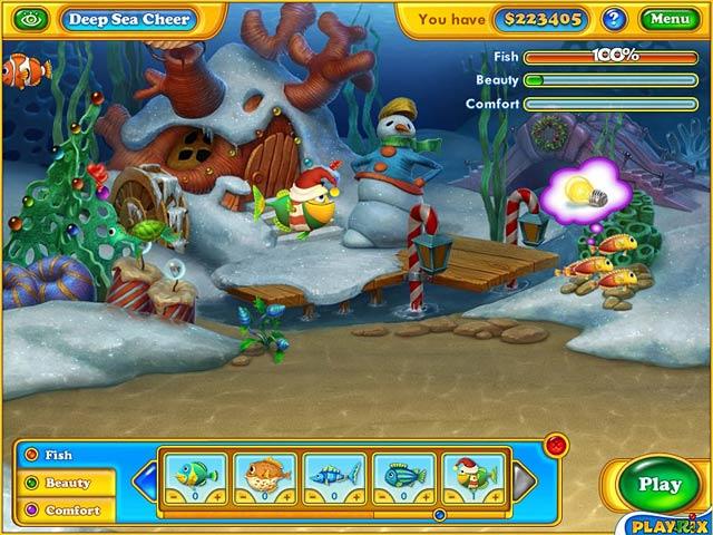 حمل اللعبة الجديدة Fishdom Frosty screen2.jpg