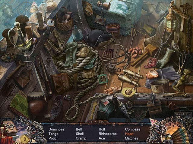 Grim Facade: Mystery of Venice - PC Game Download Screen 1