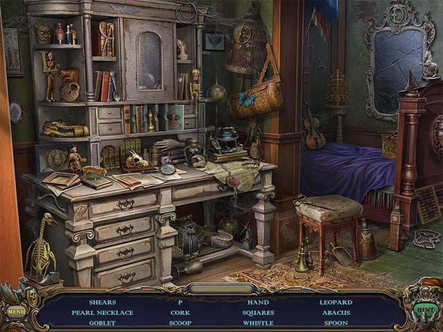 Haunted Manor: Queen of Death Collector's Edition  screen 1