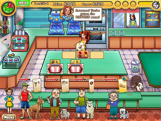 Jessica's BowWow Bistro - Mac Game screenshot 1