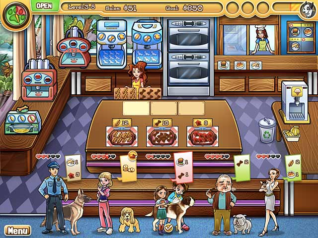 Jessica's BowWow Bistro - Mac Game screenshot 2