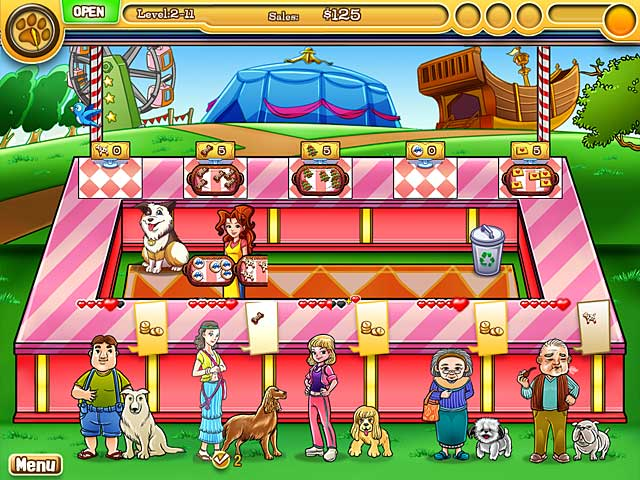 Jessica's BowWow Bistro - Mac Game screenshot 3