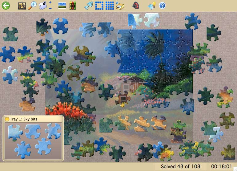 Jigsaws Galore - Mac game free download Screenshot 1