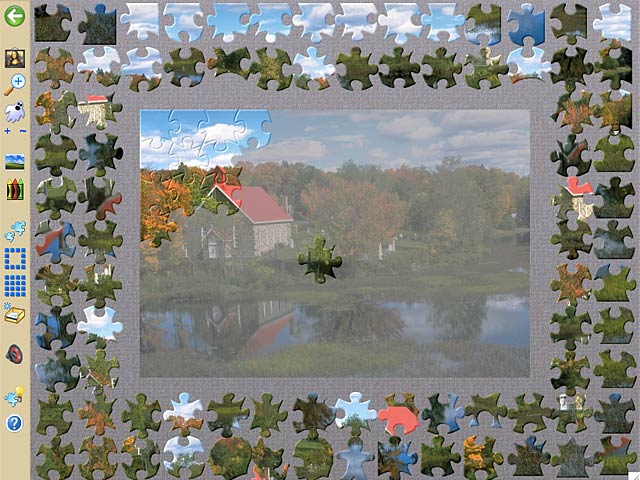 Jigsaws Galore - Mac game free download Screenshot 2