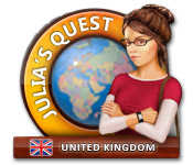 Julia's Quest: United Kingdom - Mac game free download