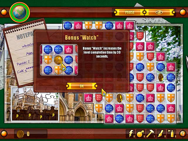 Julia's Quest: United Kingdom - Mac game free download Screenshot 3