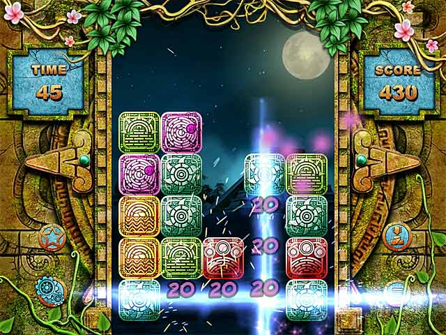 Mayan Puzzle - Mac game free download Screenshot 1