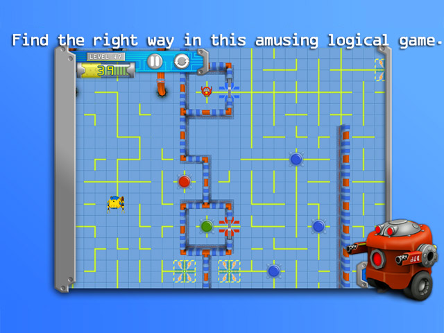 RoboRoll - Mac Game Complete version screenshot 1