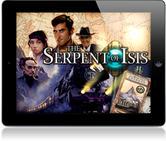 The Serpent of Isis Available for iPad HD & iPhone