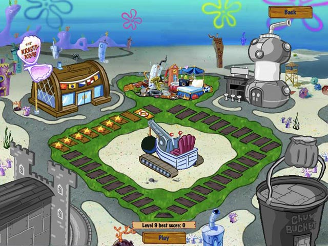 Spongebob Diner Dash 2 - Mac game free download Screenshot 1
