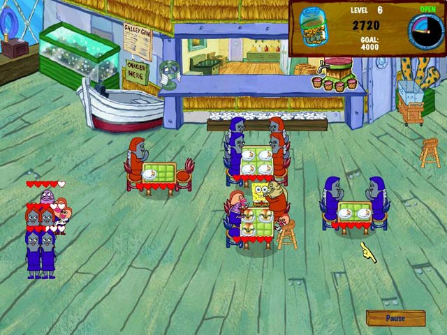 Spongebob Diner Dash 2 - Mac game free download Screenshot 2