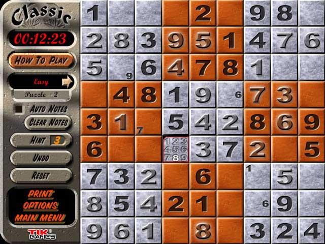 Sudoku Latin Squares Game
