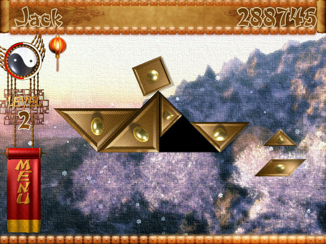 Temple of Tangram Game