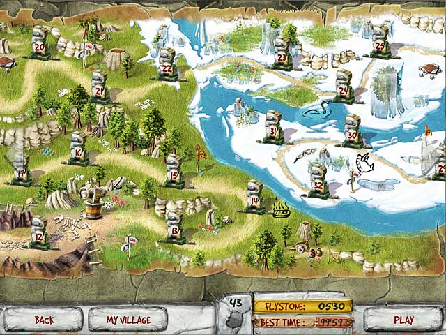 The Timebuilders: Caveman's Prophecy - PC game free download Screenshot 2