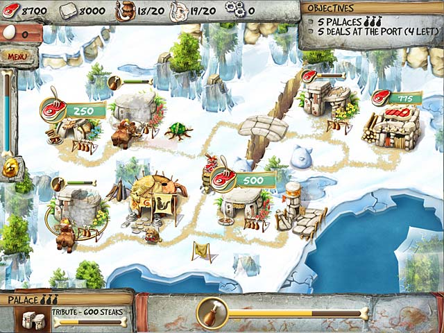 The Timebuilders: Caveman's Prophecy - PC game free download Screenshot 3