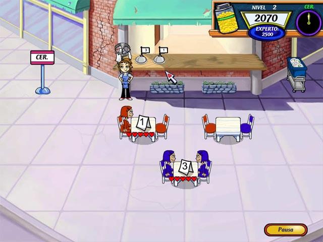 1. Diner Dash 2 Restaurant Rescue Juego Captura De Pantalla