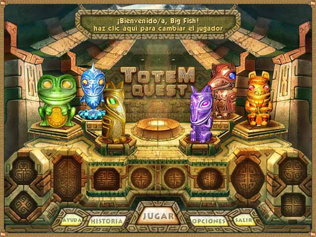 Totem Quest Pc Juego Match 3 Puzzle Juego